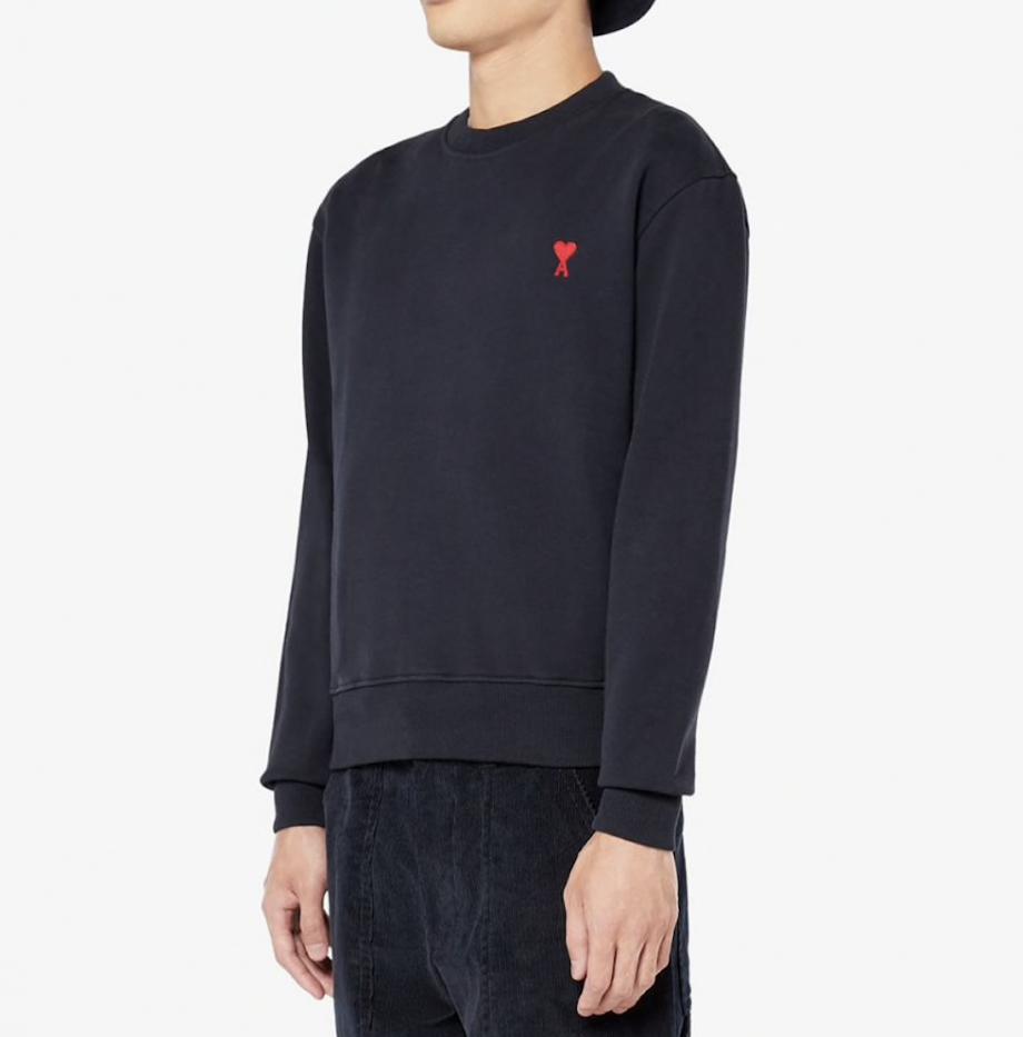 Sweatshirt Ami de Coeur Marine_2
