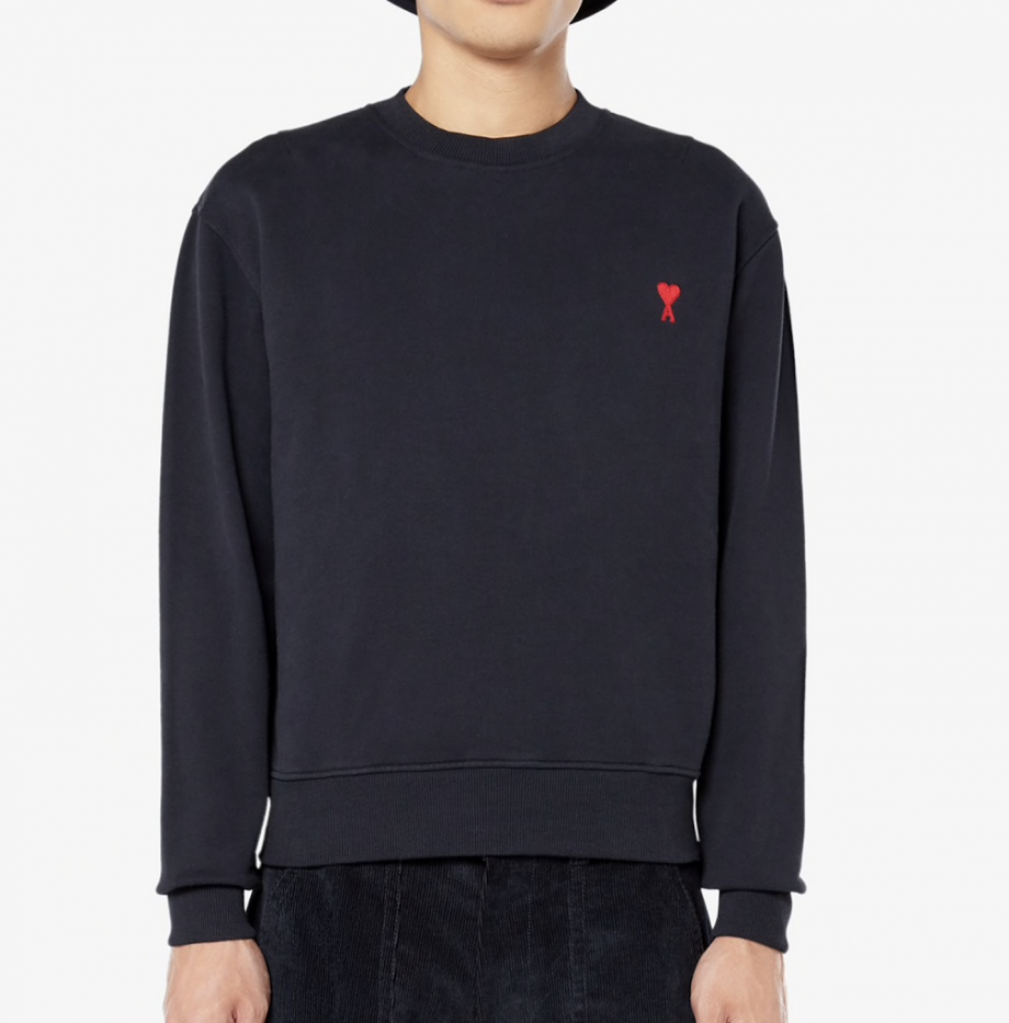 Sweatshirt Ami de Coeur Marine_4