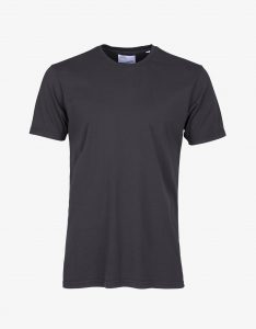 Tee-Shirt Classic Organic Colorful Standard Lava Grey