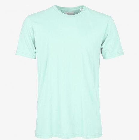 Tee-Shirt Classic Organic Colorful Standard Light Aqua