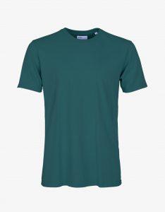 Tee-Shirt Classic Organic Colorful Standard Ocean Green