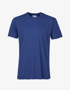 Tee-Shirt Classic Organic Colorful Standard Royal Blue