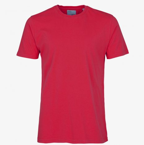 Tee-Shirt Classic Organic Colorful Standard Scarlet Red