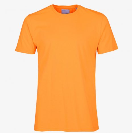 Tee-Shirt Classic Organic Colorful Standard Sunny Orange