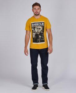Tee-Shirt Combo STEVE MCQUEEN™ Barbour Harvest Gold
