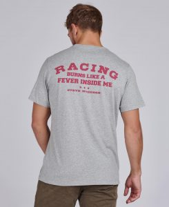 Tee-Shirt Enduro STEVE MCQUEEN™ Barbour Grey Marl