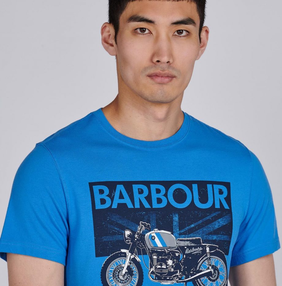 Tee-Shirt_Greenwood_Barbour_Pure_Blue