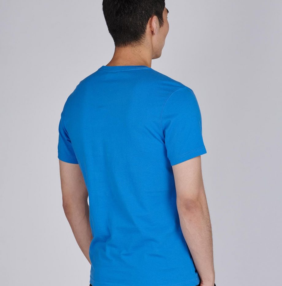Tee-Shirt_Greenwood_Barbour_Pure_Blue_4