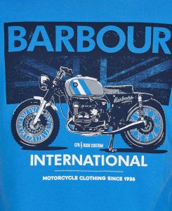 Tee-Shirt Greenwood Barbour Pure Blue