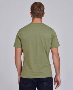 Tee-Shirt Indiana STEVE MCQUEEN™ Barbour Light Moss