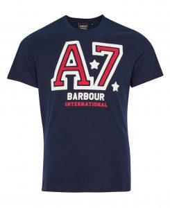 Tee-Shirt Legendary A7 Barbour Navy