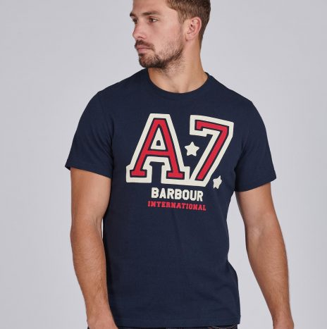 Tee-Shirt Legendary A7 Barbour Navy
