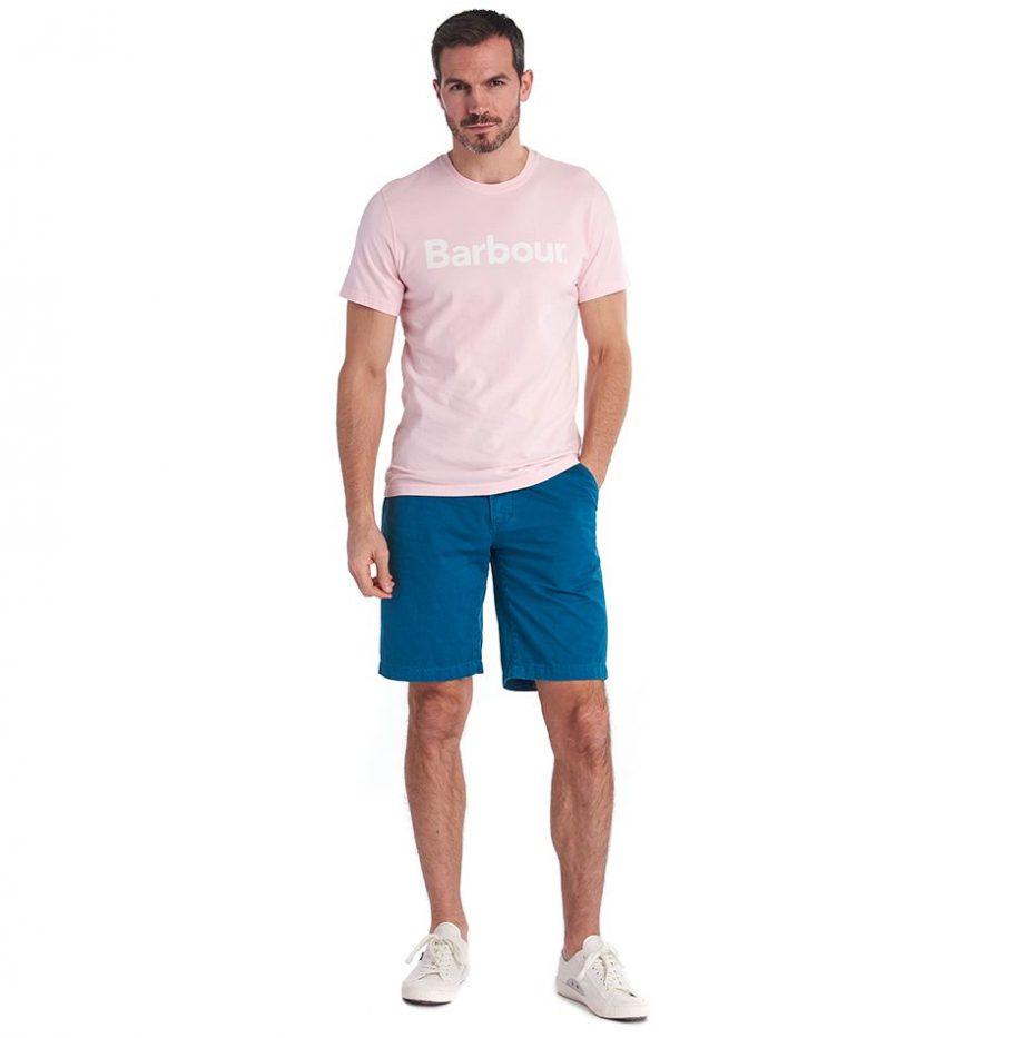 Tee-ShirtTee-Shirt Logo Barbour Chalk Pinkgo_Barbour_Chalk_Pink_4