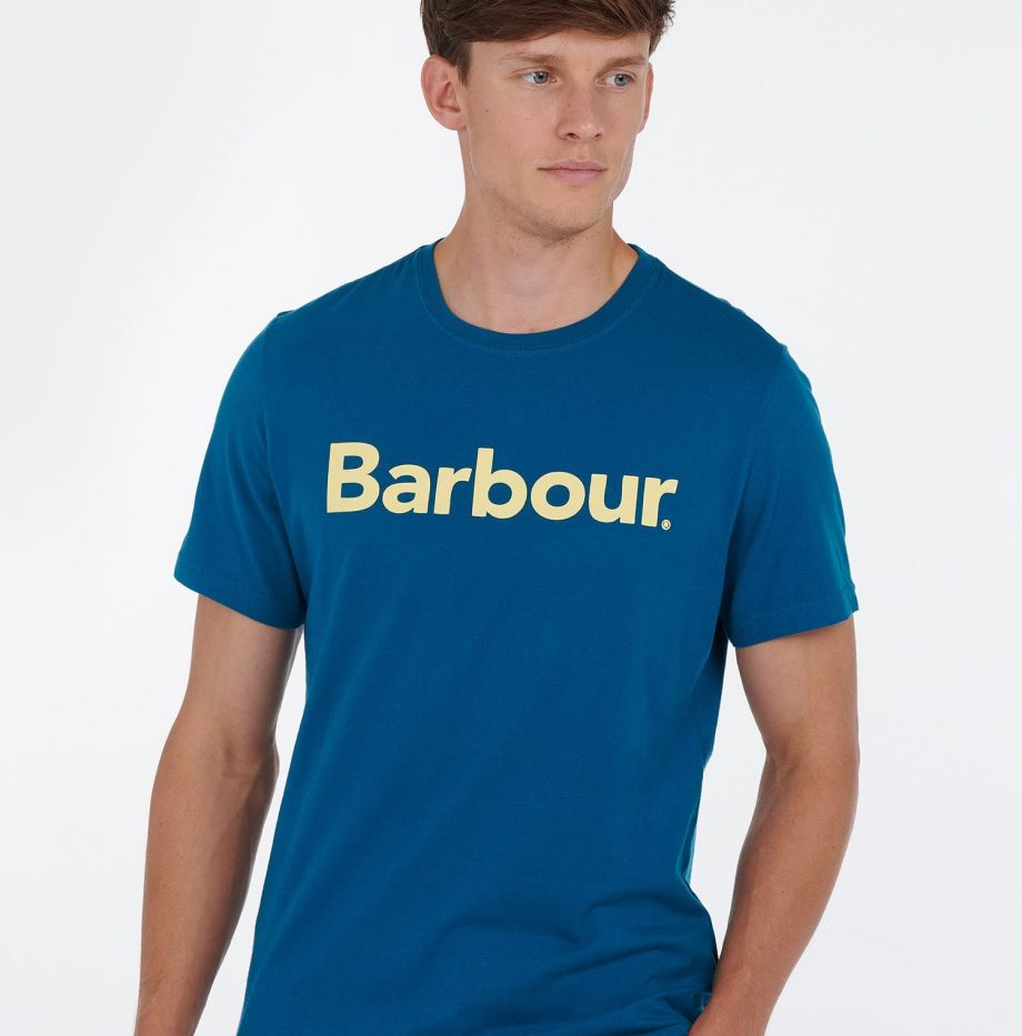 Tee-Shirt_Logo_Barbour_Lyons_Blue