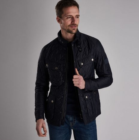 Veste Ariel Quilted Barbour Navy