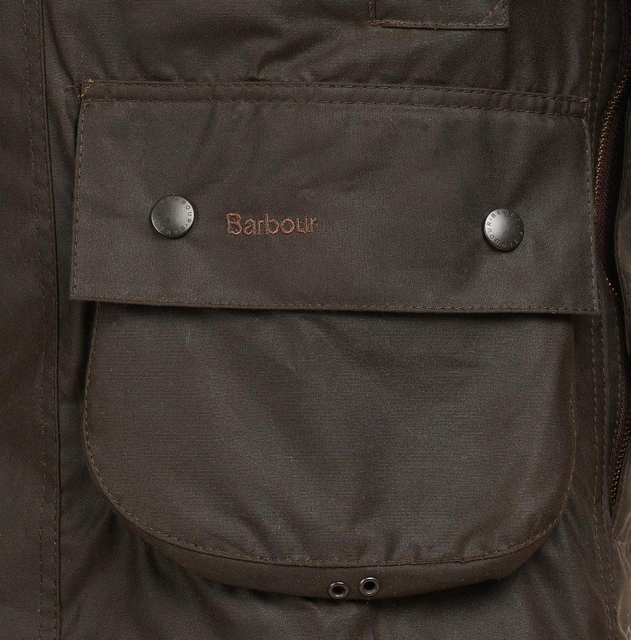 Veste_Classique_Beaufort_Barbour_Olive_6