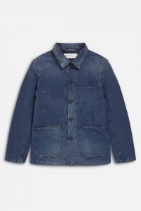 Veste Worker Closed Mid Blue