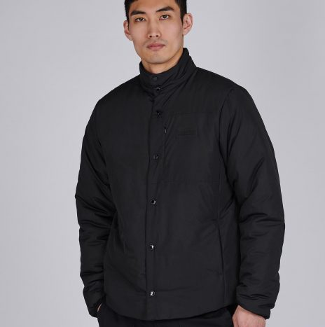 Viewforth Quilt Veste Barbour International Black