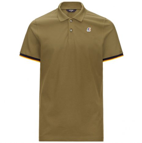 Vincent Polo K-Way Green Dk Olive