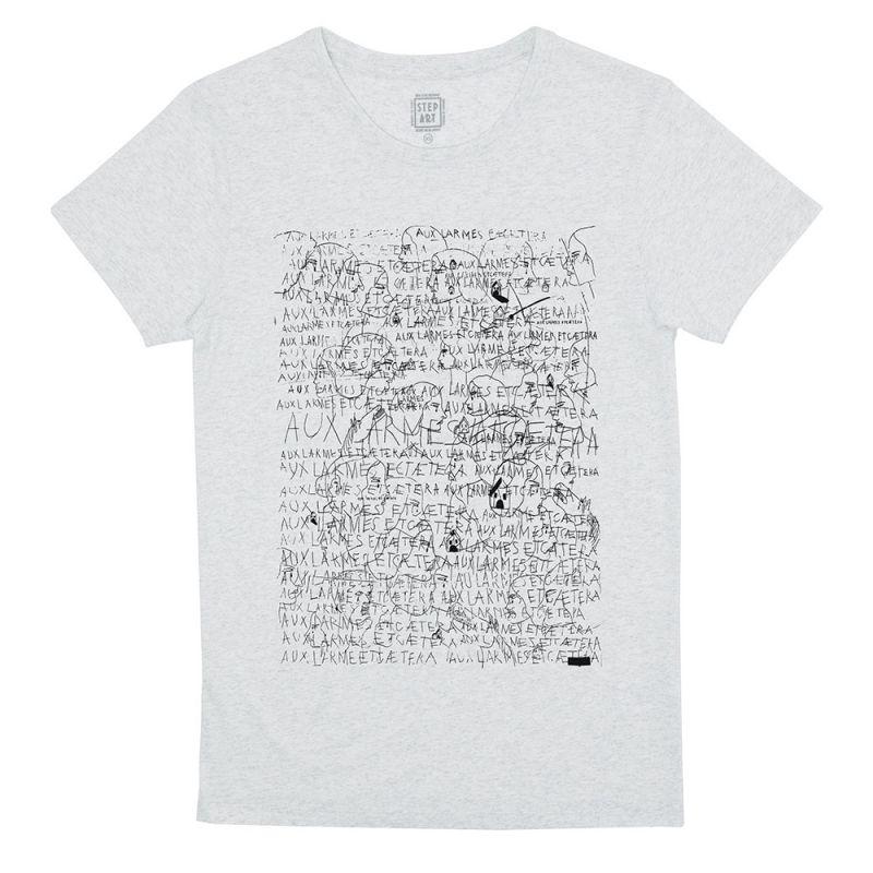 Aux_Larmes_T-Shirt_StepArt_Chantilly