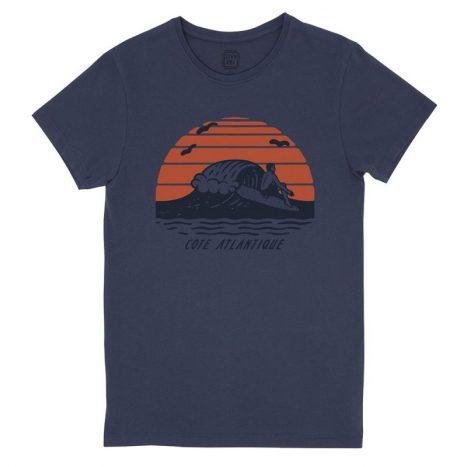 Cote Atlantique T-Shirt StepArt Navy