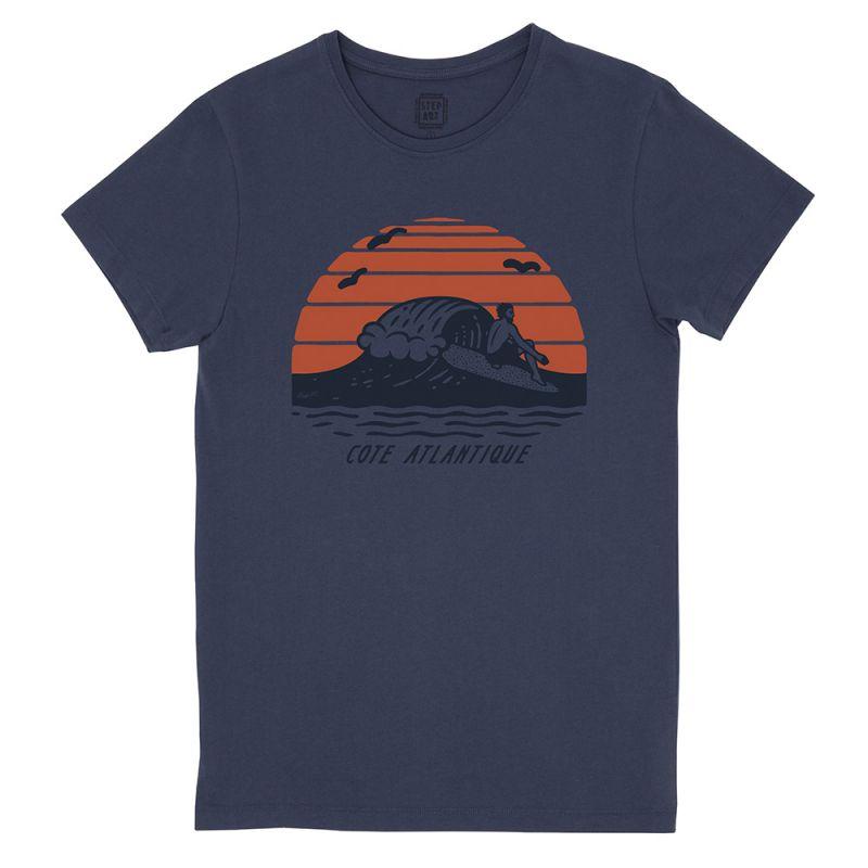 Cote_Atlantique_T-Shirt_StepArt_Navy