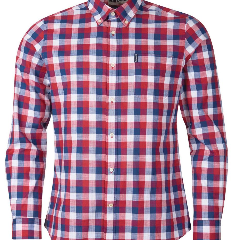 Gingham_25_Chemise_Barbour_Red_2