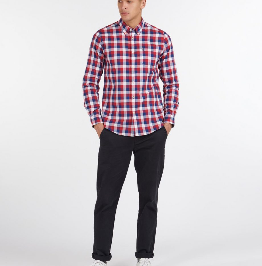 Gingham_25_Chemise_Barbour_Red_3