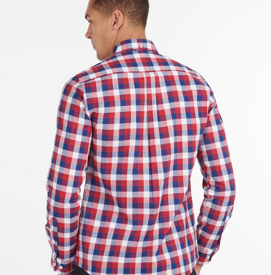 Gingham_25_Chemise_Barbour_Red_4