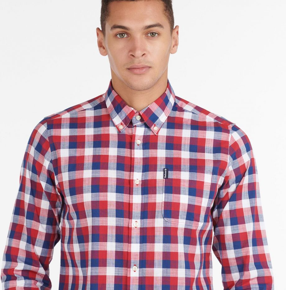 Gingham_25_Chemise_Barbour_Red_5
