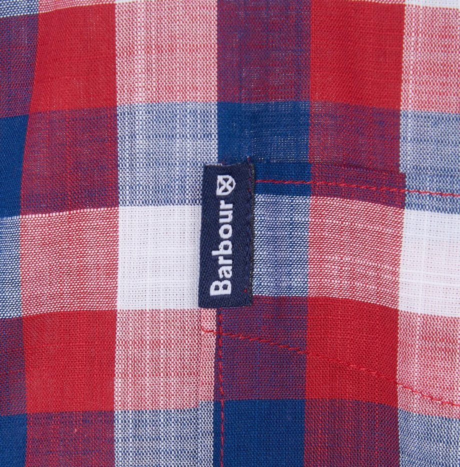 Gingham_25_Chemise_Barbour_Red_6