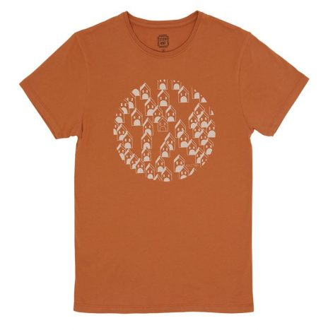 House Of Boul T-Shirt StepArt Rust