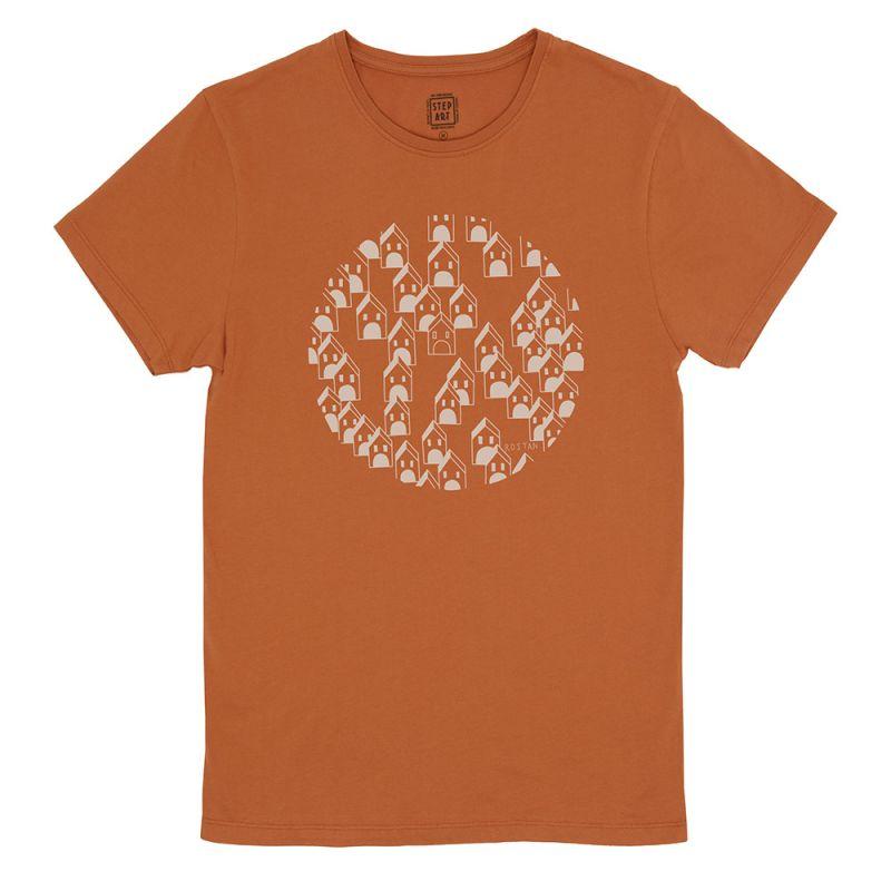 House_Of_Boul_T-Shirt_StepArt_Rust