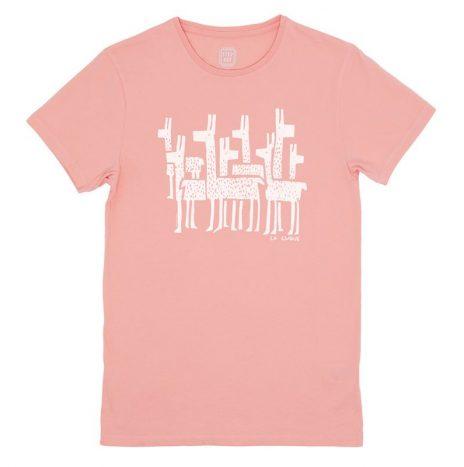 La Clique T-Shirt StepArt Vintage Pink