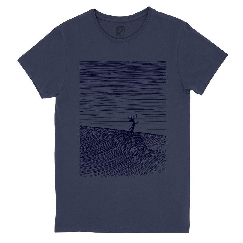 Moosa_Head_T-Shirt_StepArt_Navy