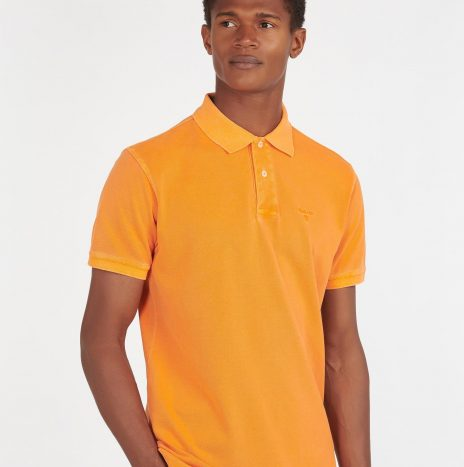 Polo Washed Sports Barbour Acid Orange