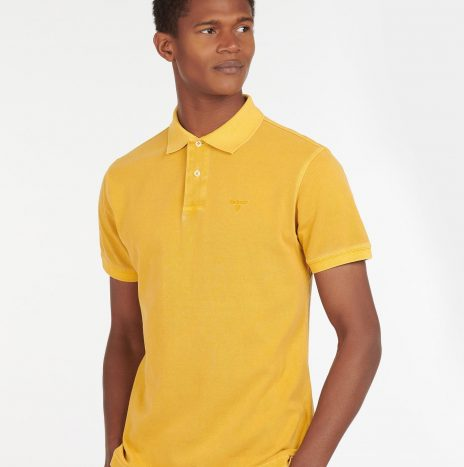 Polo Washed Sports Barbour Yellow