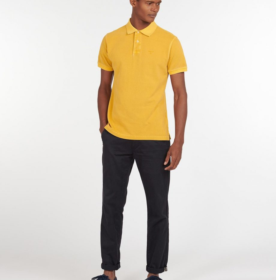 Polo_Washed_Sports_Barbour_Yellow_3