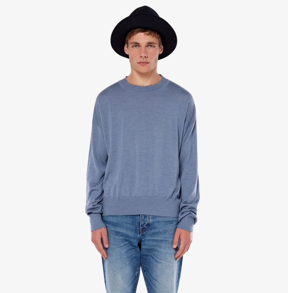Pull_Col_Rond_Oversize_Ami_Bleu_3