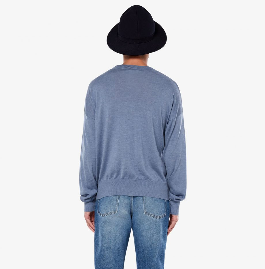 Pull_Col_Rond_Oversize_Ami_Bleu_4