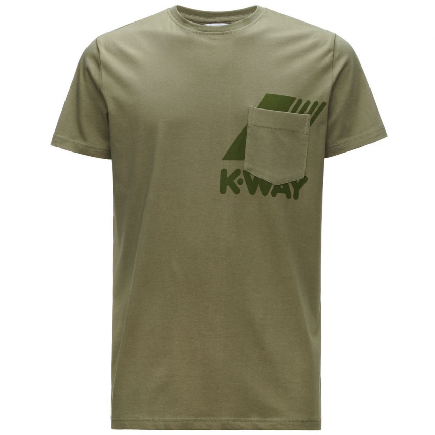 Ros_t-shirt_K-Way_Green_Dk_Olive