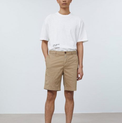 Short Chino Closed Hickory