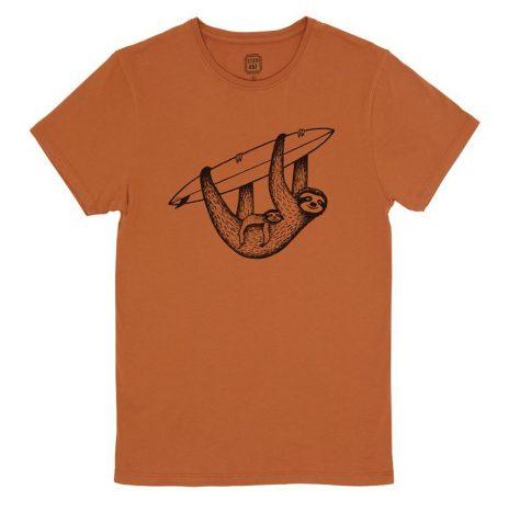 Sloth & Surf T-Shirt StepArt Rust