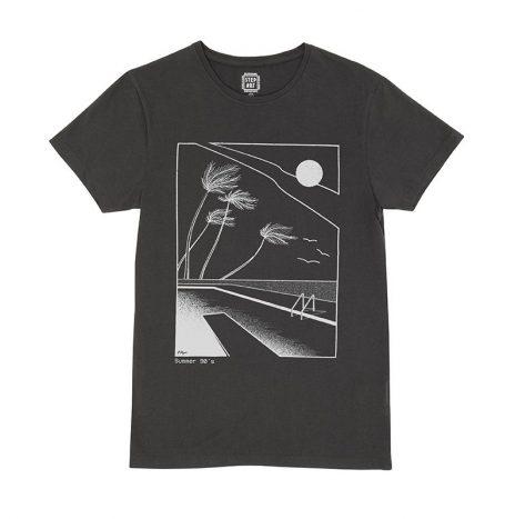 Summer 90′ T-Shirt StepArt Noir