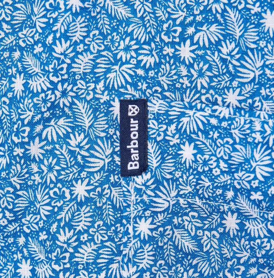 Summer_Print_8_Chemise_Manches_Courtes_Barbour_Blue_6