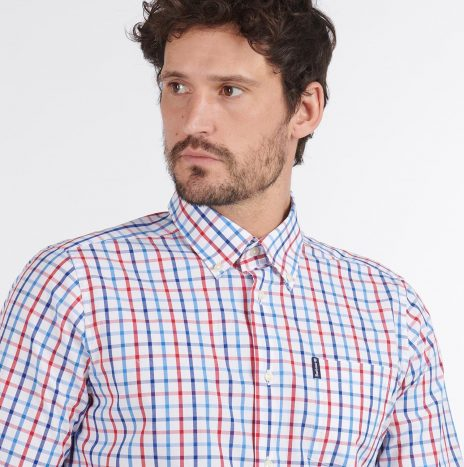 Tattersall Chemise Barbour Red
