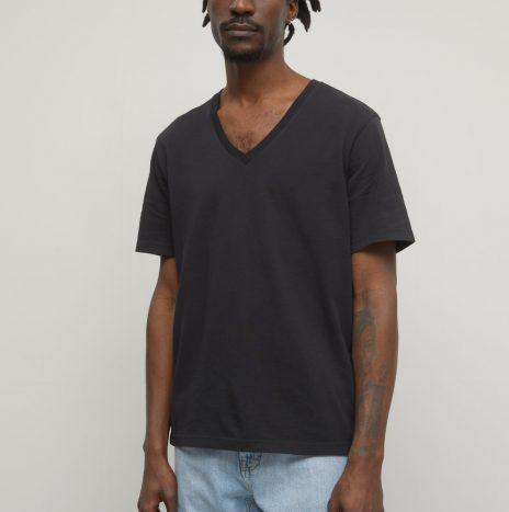 Tee-Shirt Col V Closed Noir