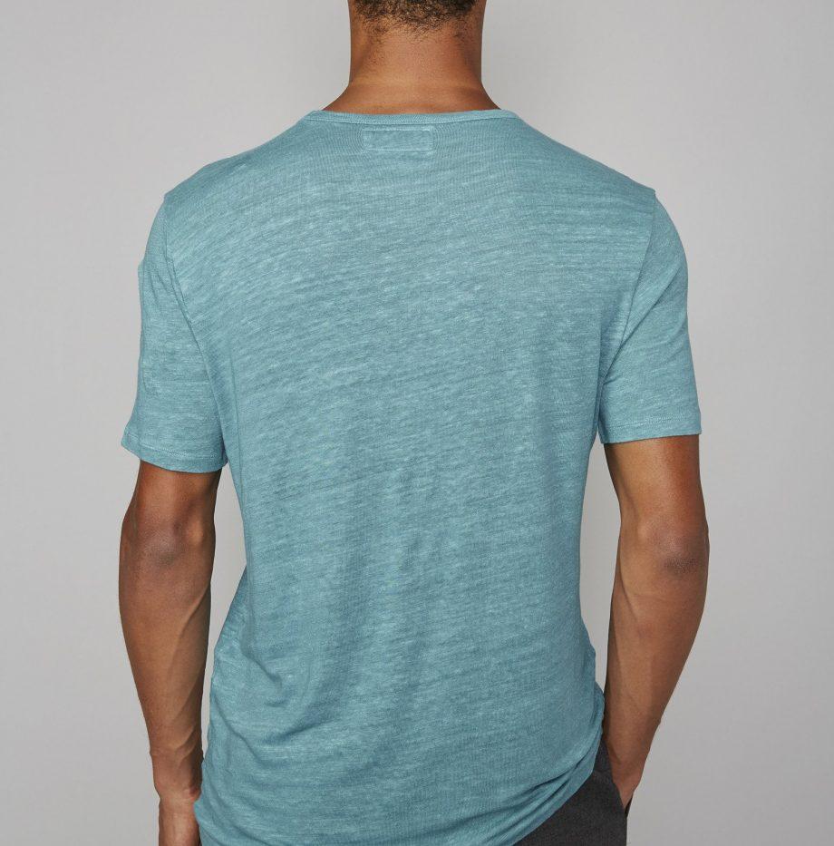 Tee-Shirt_Lin_Officine_Générale_Britanny_Blue_3