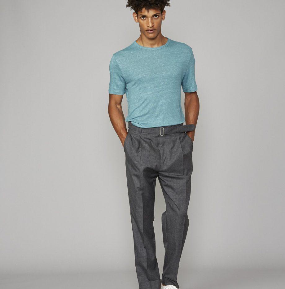 Tee-Shirt_Lin_Officine_Générale_Britanny_Blue_4