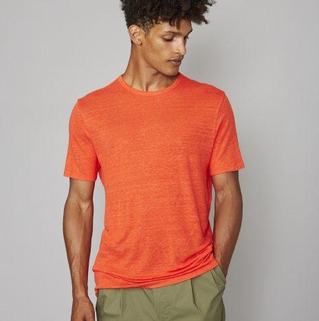 Tee-Shirt Lin Officine Générale Orange